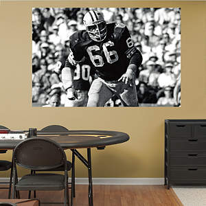 Ray Nitschke In Your Face Mural Fathead Wall Decal